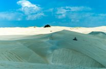 Lone Rider on the Dune I _3KW2685